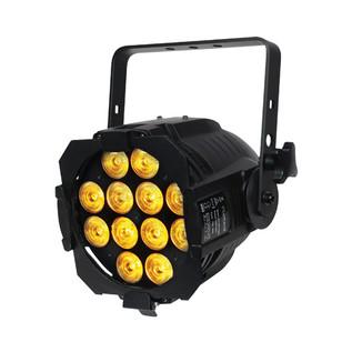 eLumen8 Alu HEX Par 64 Black (12 x 12W 6-in-1 RGBWAUV)