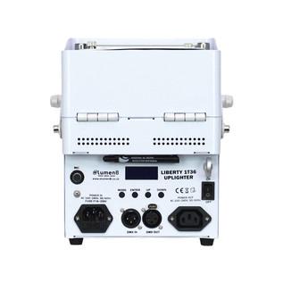 eLumen8 Liberty 1T36 COB Battery Uplighter (White Housing)