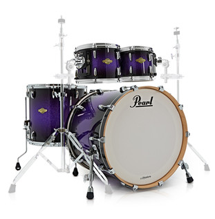 Pearl MCX Masters 22'' Am. Fusion Shell Pack, Purple Sparkle Fade