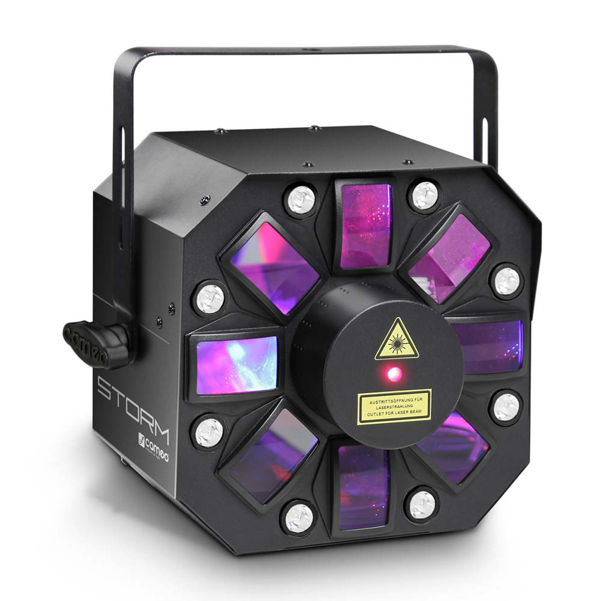 Image of Cameo 5 x 3W RGBAW Derby Strobe and Grating Laser Lighting Effect