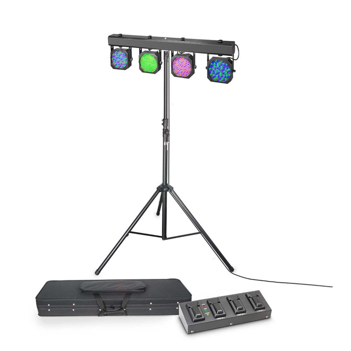 Image of Cameo Multi Par 1 Set 432 x 10mm LED Lighting System with Case