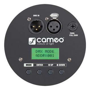 Cameo 12 x 10W 6-in-1 RGBWA+UV LED Par Can Light, Black