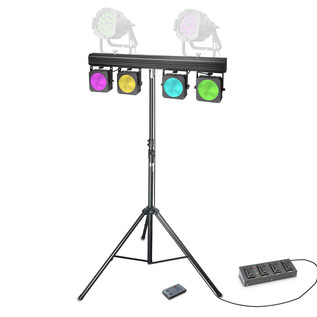 Cameo Multi Par Set 4 x 30W COB LED Lighting System
