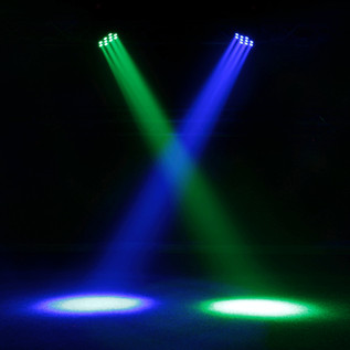 Equinox Fusion Beam RGBW Moving Head LED Light