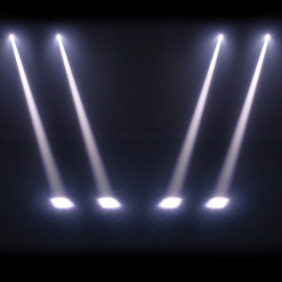 Equinox Slender Beam White Moving Head LED Light