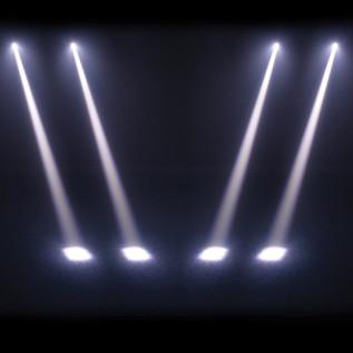 Equinox Slender Beam White Moving Head LED Light