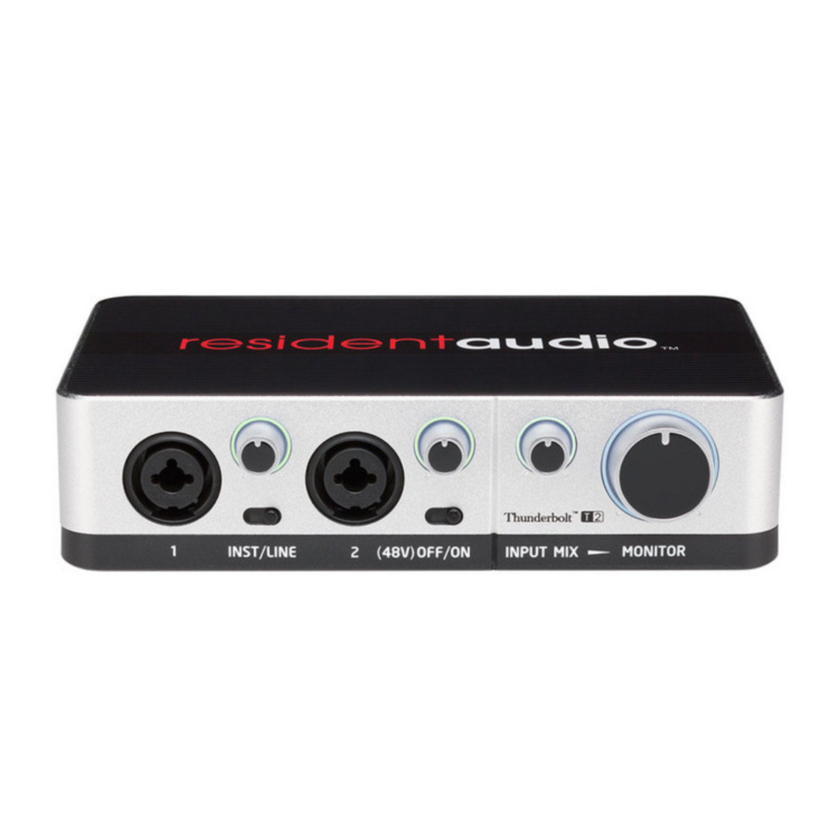 resident audio t2 thunderbolt audio interface nearly new at. Black Bedroom Furniture Sets. Home Design Ideas