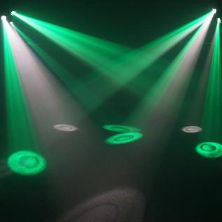 Equinox Triclops Beam LED Scanner