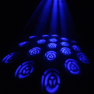 Equinox Impact Flower 20W COB LED DMX Gobo Flower