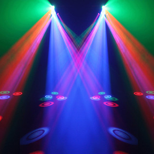 Equinox Six Shooter 18 x 3W LED DMX Effect