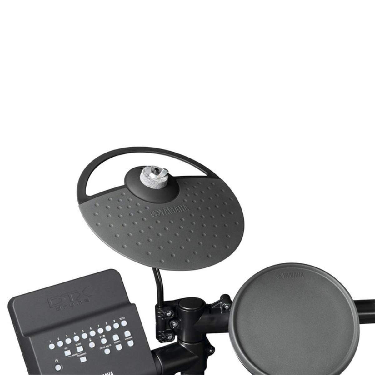 yamaha dtx400k electronic drum kit box opened at