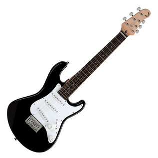Dean Avalanche Mini Electric Guitar, Classic Black