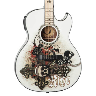 Dean Exhibition Electro Acoustic Guitar w/Aphex, Resurrection