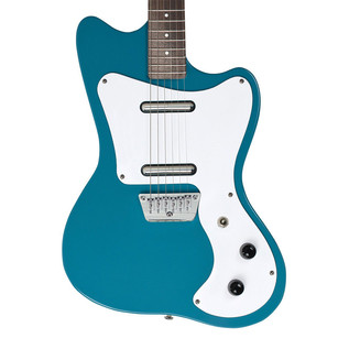 Danelectro 67 Offset Electric Guitar, Aqua