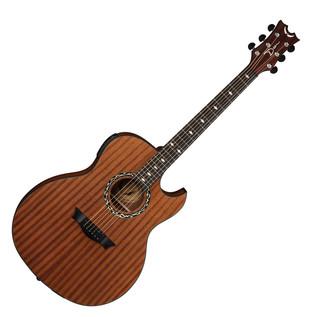 Dean Exhibition Electro Acoustic Guitar w/Aphex, Satin Natural