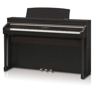 Kawai Concert Artist CA97 Digital Hybrid Piano, Premium Rosewood