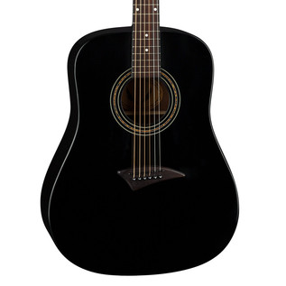 Dean AXS Dreadnought Acoustic Guitar, Classic Black