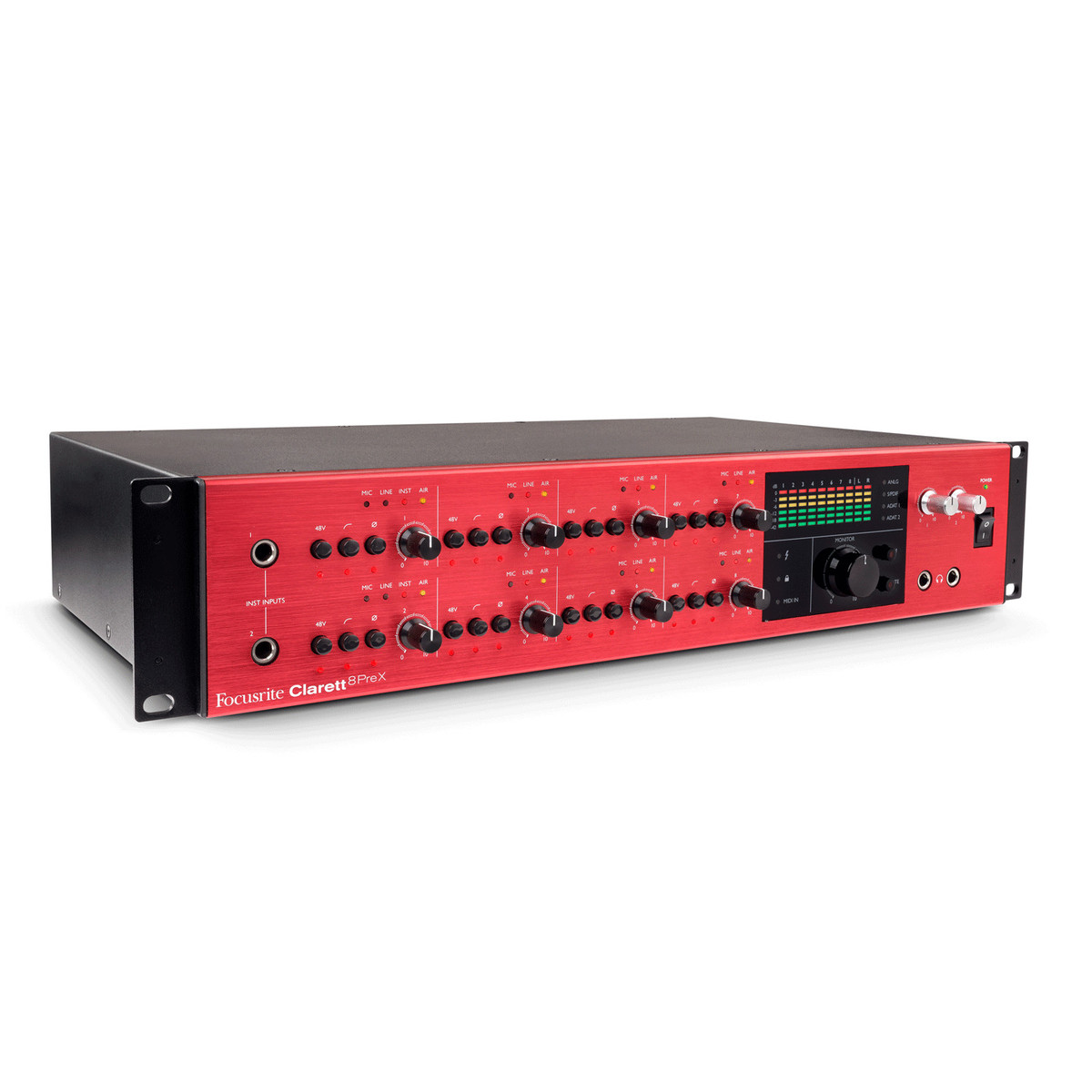 Image of Focusrite Clarett 8 Pre X Thunderbolt Audio Interface