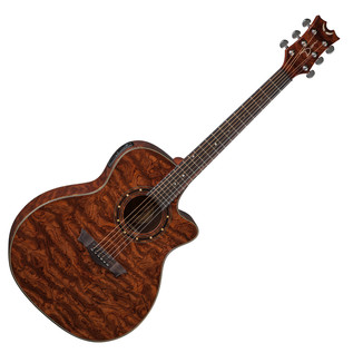 Dean Exotica Aphex Electro Acoustic Guitar, Natural Bubinga