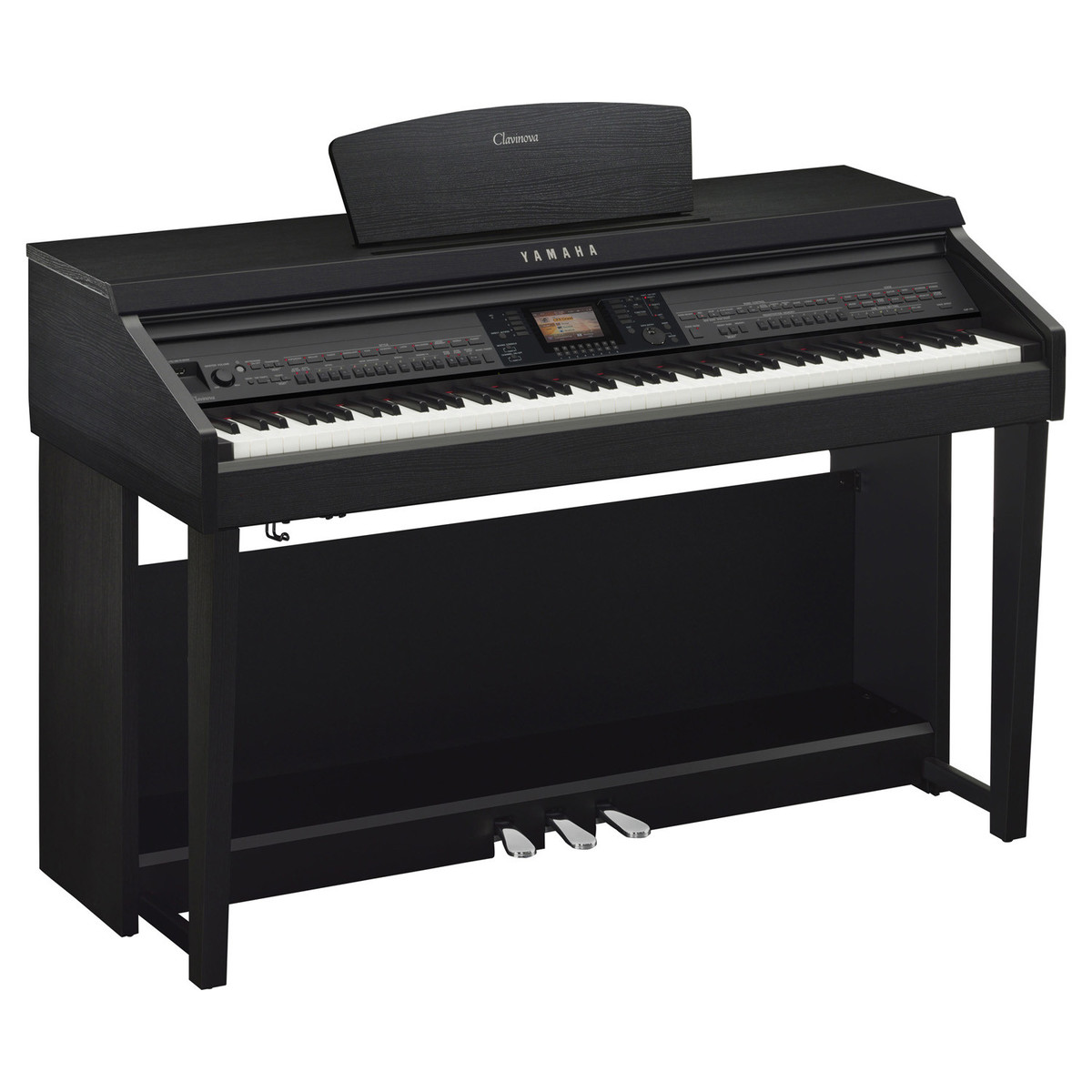 yamaha cvp701 clavinova digital piano black walnut at. Black Bedroom Furniture Sets. Home Design Ideas