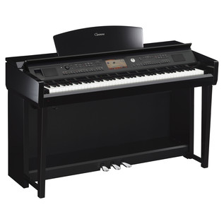 Yamaha Clavinova CVP705 Digital Piano, Polished Ebony