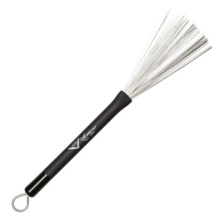 Vater Heavy Wire Retractable Brush, Pair