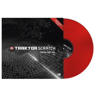 Native Instruments Traktor Scratch Control Vinyl MK2 Red