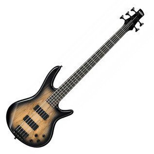 Ibanez GIO GSR205SM 5 String Bass Guitar, Natural Grey Burst