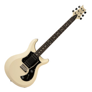 PRS S2 Standard 24 Electric Guitar with Dot Inlays, Antique White
