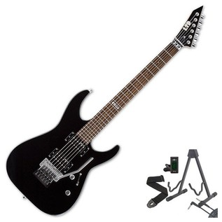 ESP LTD M-50FR Electric Guitar, Black + Free Gifts