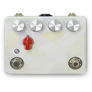 Caroline Cannonball Hand Painted Distortion Pedal, Pearl