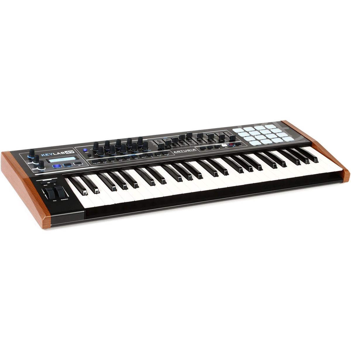 arturia keylab 49 black edition controller keyboard at. Black Bedroom Furniture Sets. Home Design Ideas