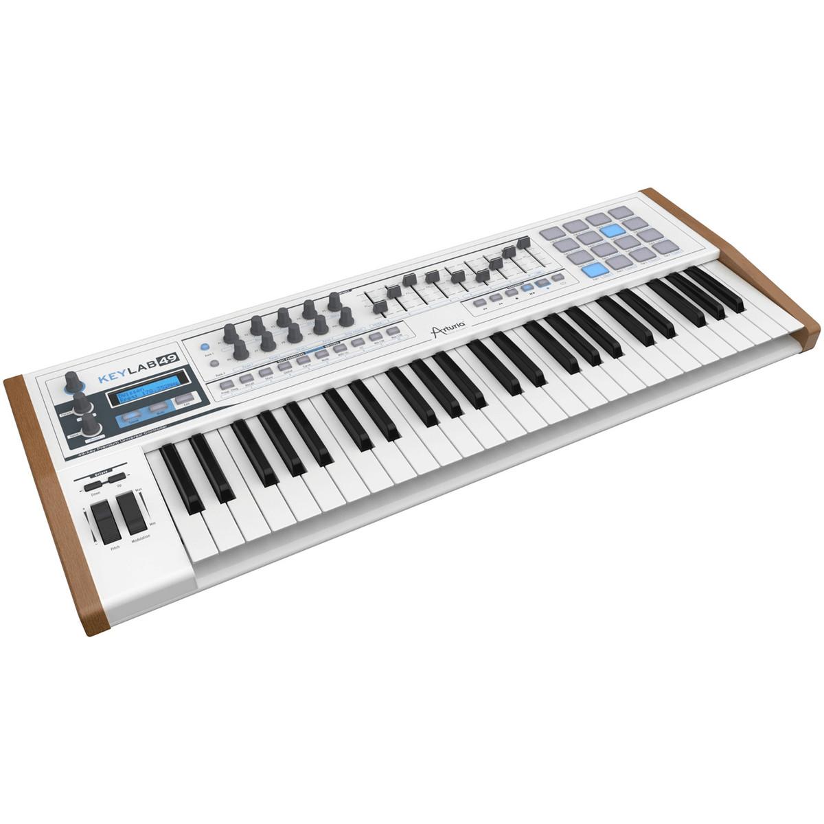 disc arturia keylab 49 midi controller keyboard at. Black Bedroom Furniture Sets. Home Design Ideas