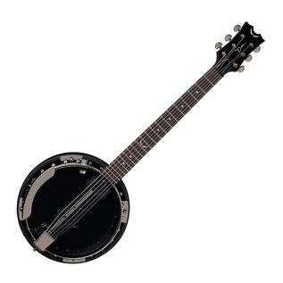 Dean Backwoods 6 Banjo w/Pickup, Black Chrome