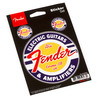 Fender Window Decals Guitar and Amp Logo