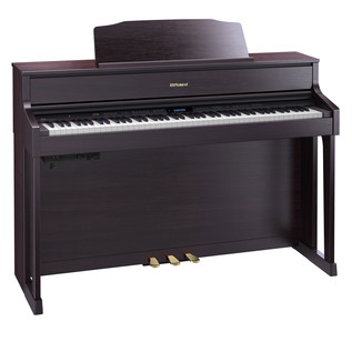 Roland HP605 Digital Piano, Contemporary Rosewood