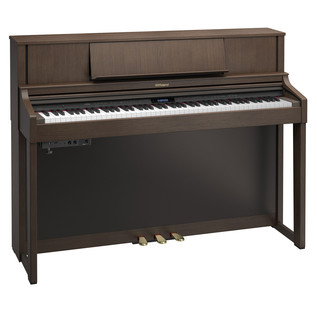 Roland LX7 Digital Piano, Brown Walnut