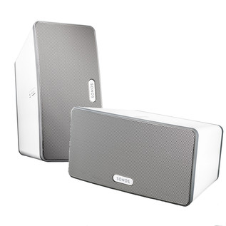 SONOS Two Room Starter Set - 2 x Play:3 White