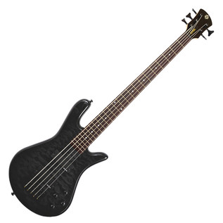 Spector Legend 5 Standard 5 String Bass Guitar, Black Stain Gloss