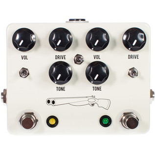 JHS Pedals Double Barrel 2 in 1 Dual Overdrive Pedal