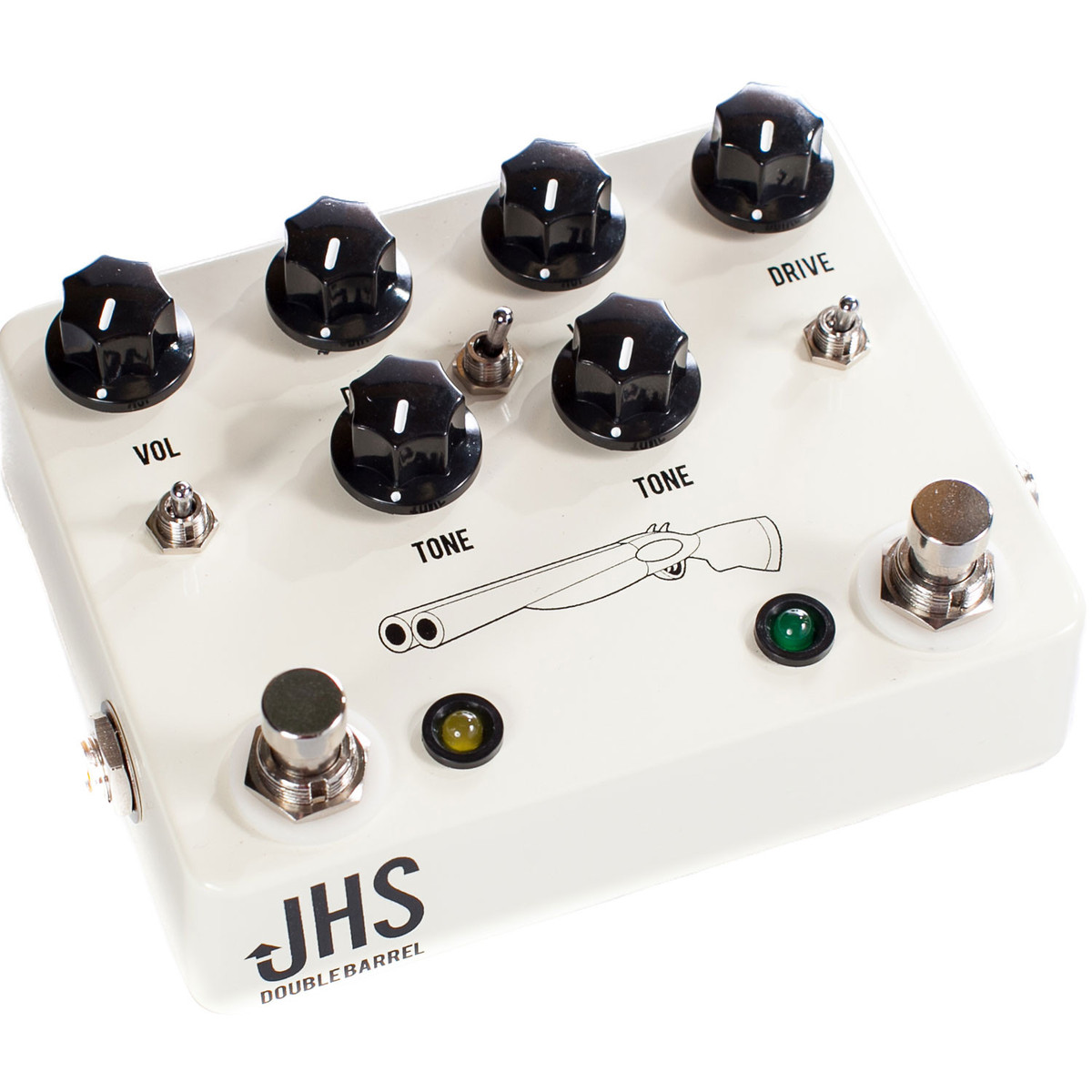 jhs pedals double barrel 2 in 1 dual overdrive pedal at. Black Bedroom Furniture Sets. Home Design Ideas