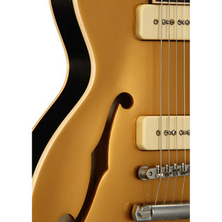Gibson ES-Les Paul P-90 VOS Electric Guitar, Gold Top