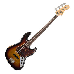 Fender Road Worn 60s Jazz Bass, RW, 3 Colour Sunburst