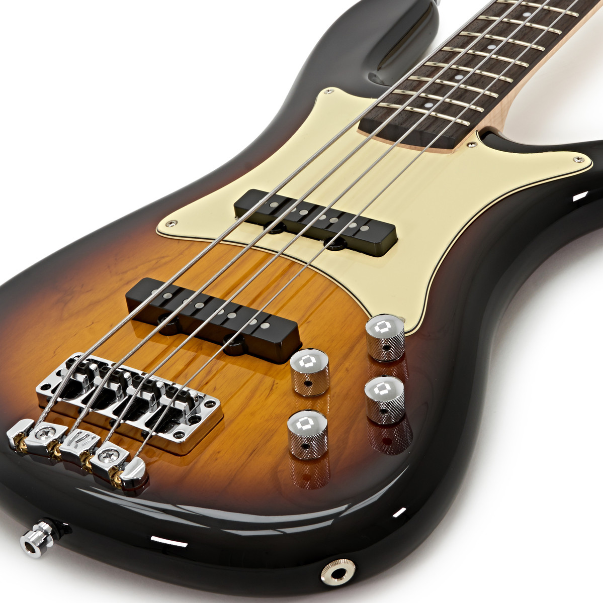 warwick gps streamer cv 4 string bass guitar  vintage sunburst at gear4music com