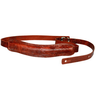 Richter 1036 Slim Deluxe Luxury Guitar Strap; Jaro Tan