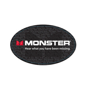 Monster Performer 500 1/4 Inch Jack Speaker Cable 3ft