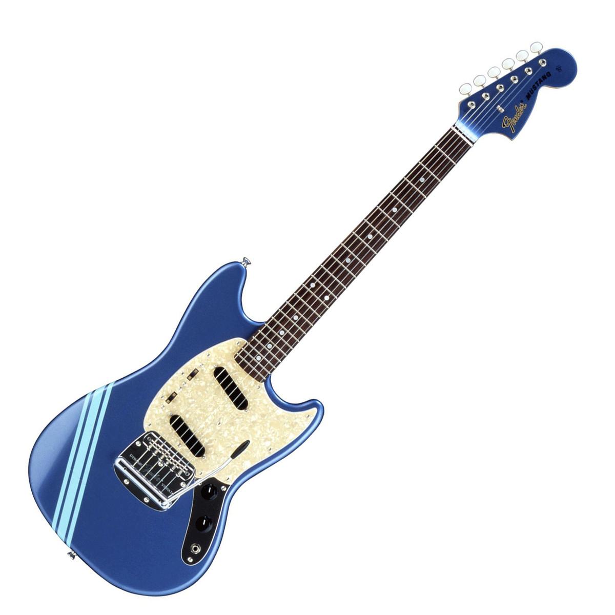 fender fsr competition mustang electric guitar lake placid blue at. Black Bedroom Furniture Sets. Home Design Ideas