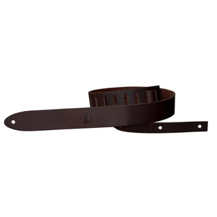 Richter 1151 RARE Raw I Guitar Strap, Brown