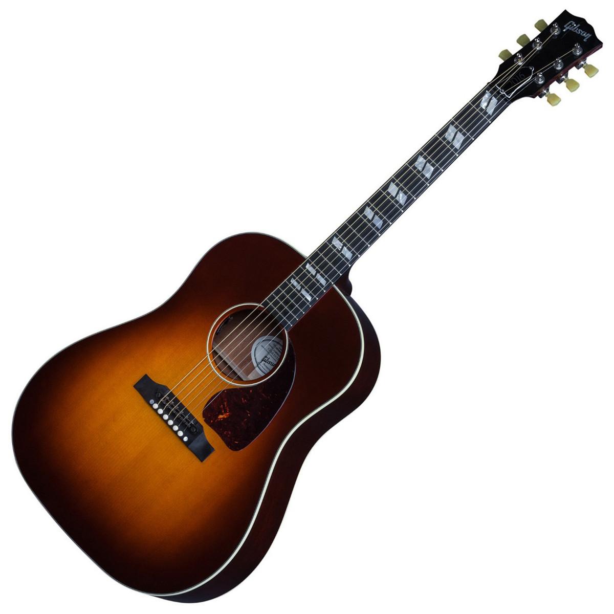 gibson 2016 j 45 progressive electro acoustic guitar autumn burst at. Black Bedroom Furniture Sets. Home Design Ideas