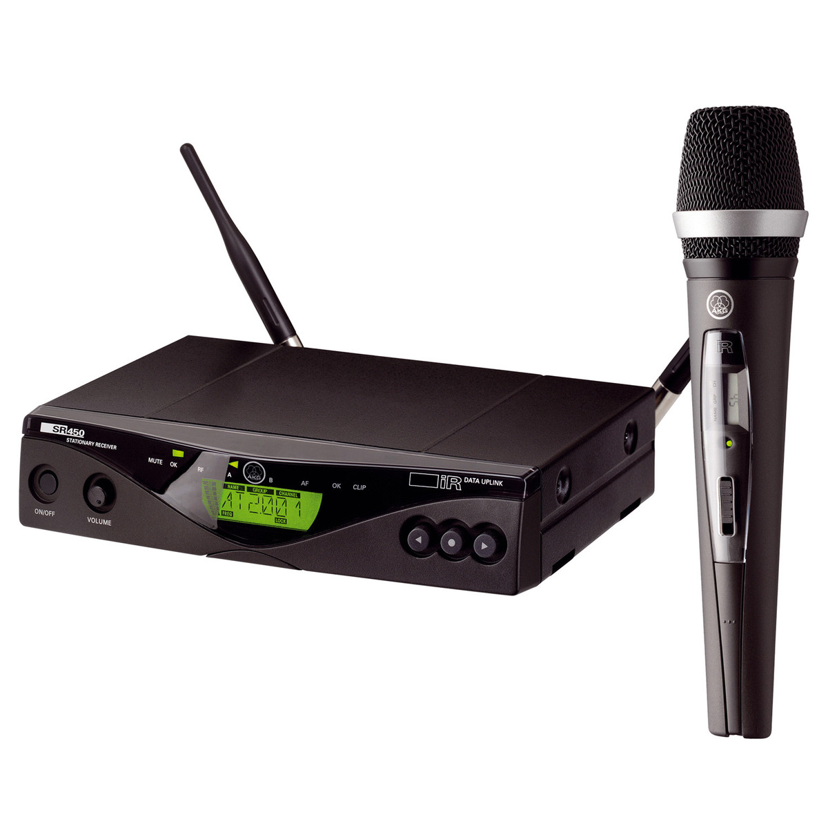 akg wms450 d5 wireless microphone system ch38 ex demo at. Black Bedroom Furniture Sets. Home Design Ideas